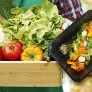 Dieta pudełkowa wegańska, wegetariańska, wege